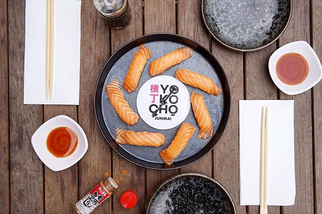 Seven nigiri, two laced with a heap of wasabi: are you brave enough to take a gamble on sushi roulette? #yokochomelbourne