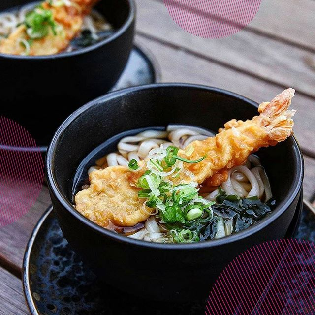 Tempura prawn udon: that perfect balance between crispy and slippery you've been searching for, now slurping at #yokochomelbourne. 📸 @achronicleofgastronomy