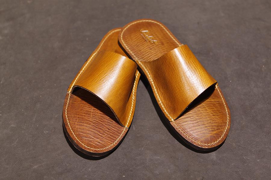 Open Toe in Tan