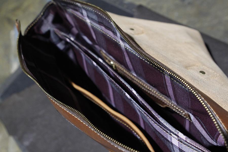 Interior : Notebook Divider, Zipper & Kangaroo pockets.