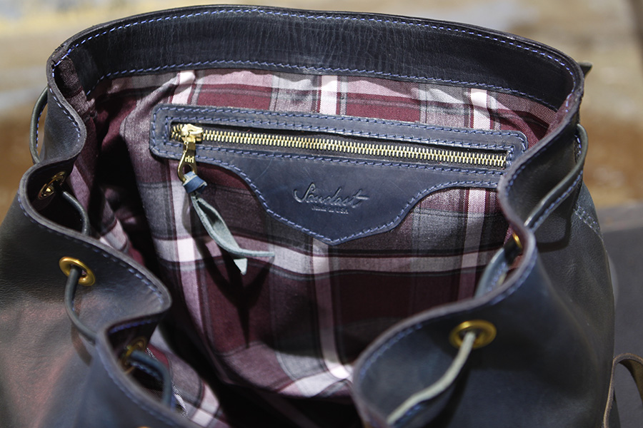 our signature plaid lined.