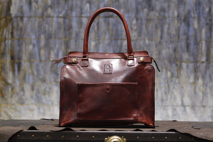 James tote in cognac… made for Rose