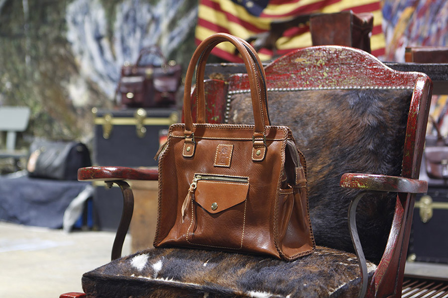 """""""I got my bag & it is stunning! The leather is so soft & wonderful!! Beautiful craftsmanship!!! I am so happy to finally receive my beautiful bag!!!""""  Eilene B - Baltimore, MD"""