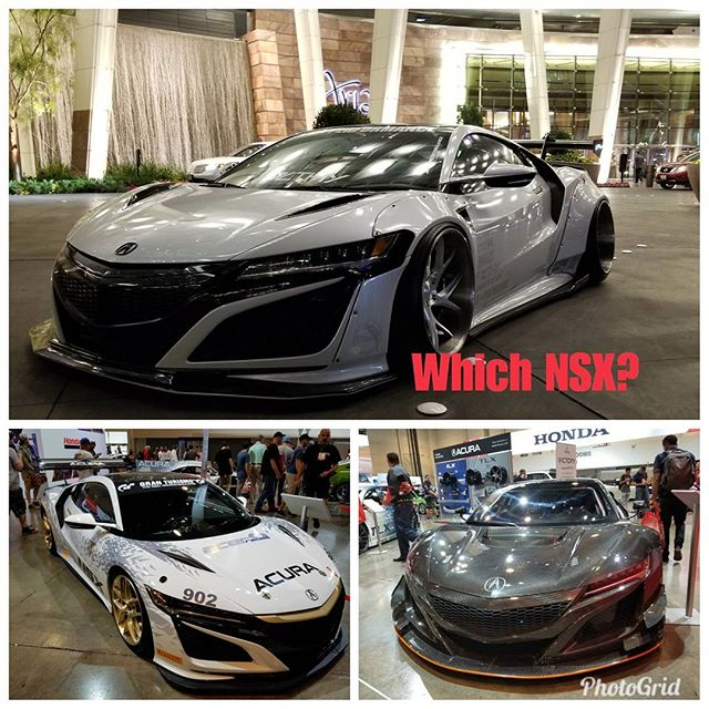 Which one do you like?  #acura #nsx #motorsport #widebody #speedsf #pick #stunning #supercar