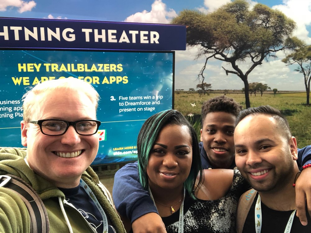 Big smiles for TrailheadX!
