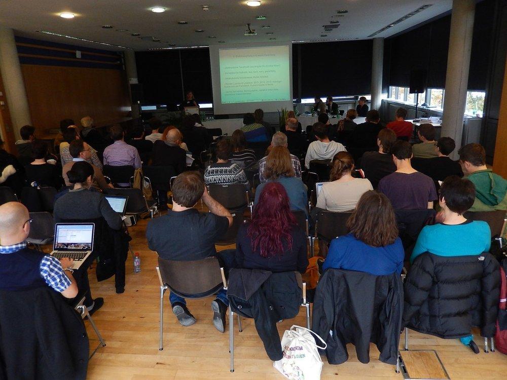 Vortrag in den Räumen der Karl-Franzens-Universität Graz zur 2. IASPM D-A-CH Konferenz