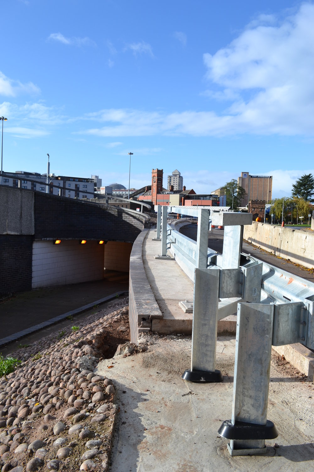 Junction 2, Coventry Ring Road - Barrier and Retaining Wall Repairs