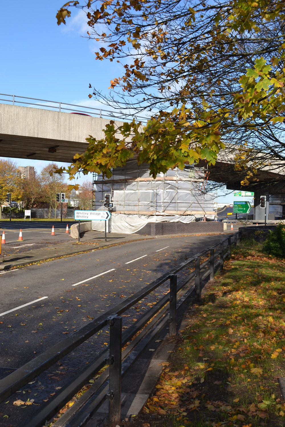 Junction 4, Coventry Ring Road - Concrete Repairs to Flyover