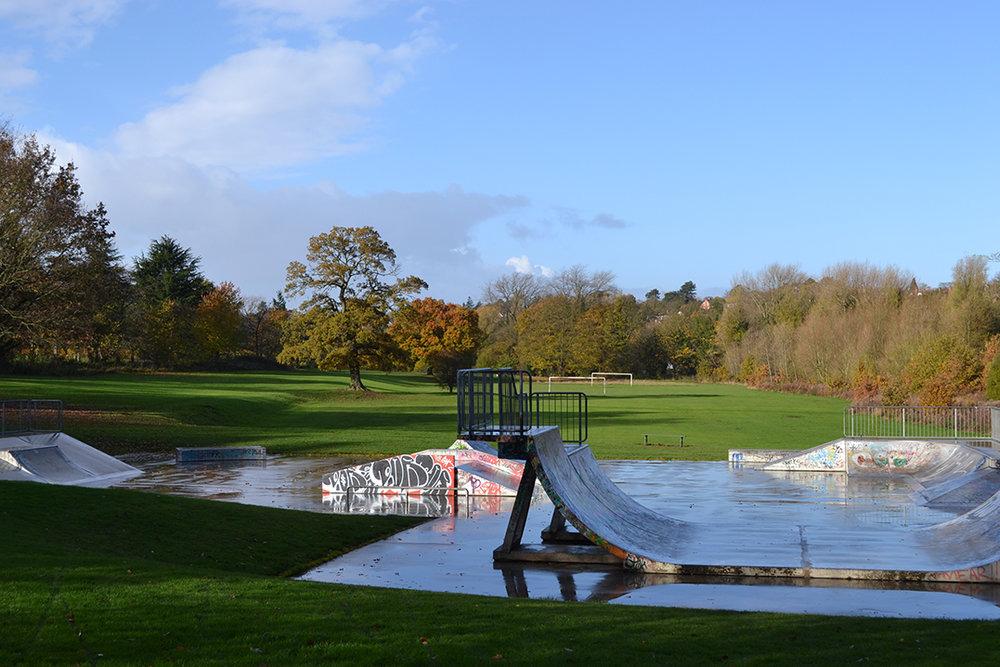 Kings Norton - Skate Park Landscaping