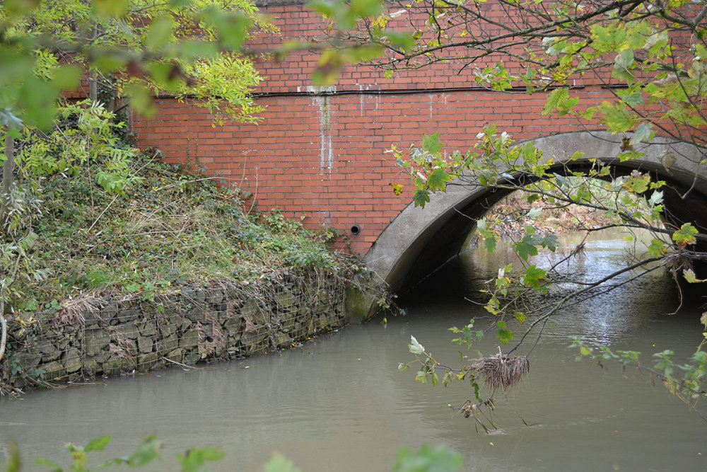 Thorpe Bridge, Southam - Scour Protection to the Abutments