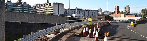 Junction 2, Ring Road - Barrier and Retaining Wall Repairs