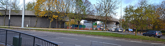 Junction 4, Ring Road - Concrete Repairs to Flyover