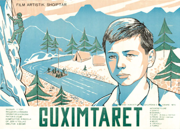 Guximtarët/The Brave Ones (1970) designed by Bujar Zajmi