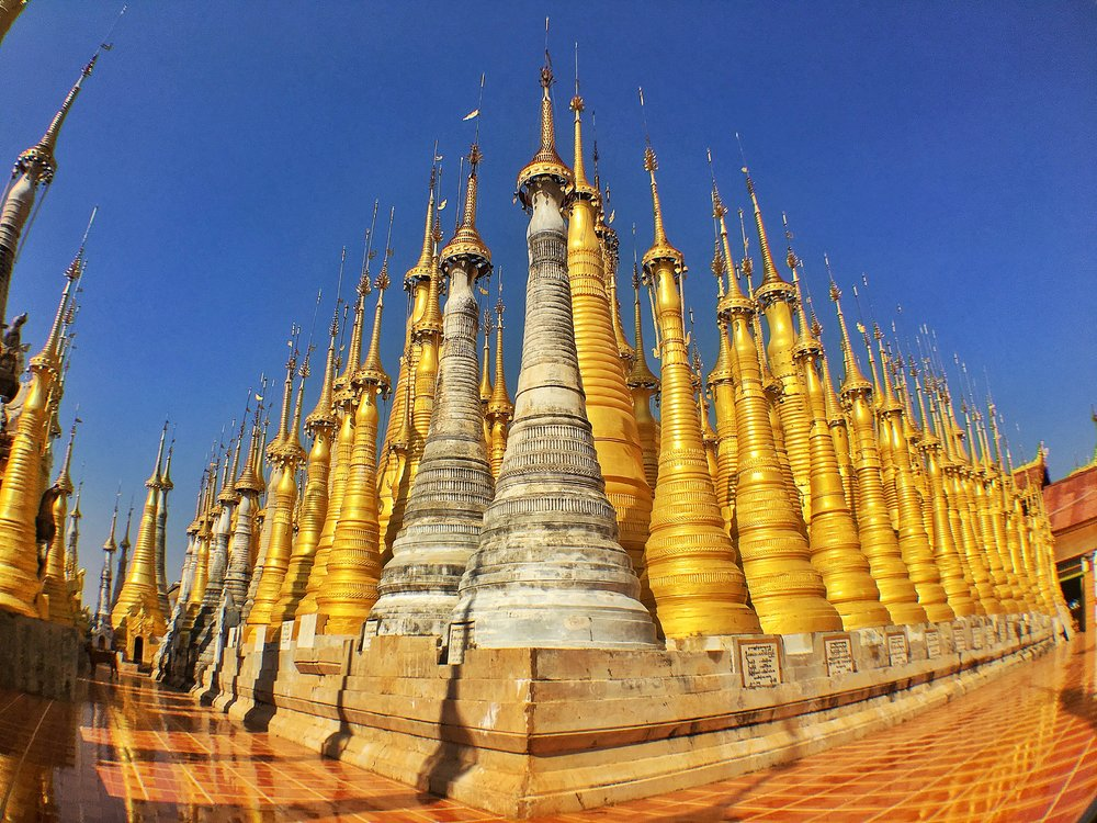 we book your trip to Myanmar's ancient places