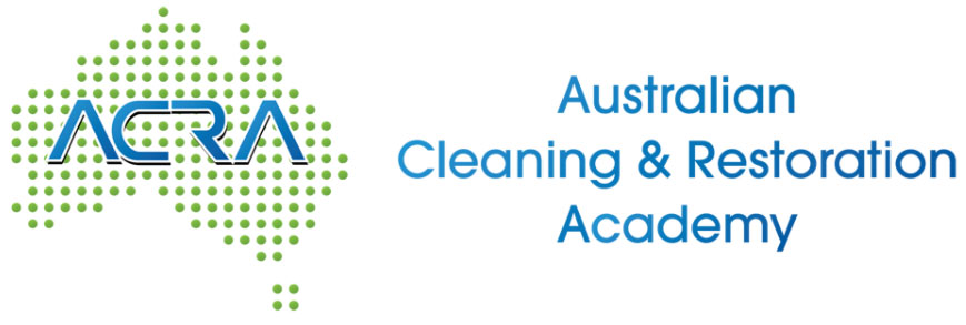 ACRA logo, Australian Cleaning & Restoration Academy