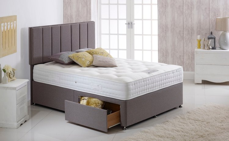"Sapphire 1000 Pocket Sprung Divan Package   -        4.6 deep fill, medium firm pocket sprung mattress   -        Two drawer base and headboard   -        Available in three colours and other sizes – ask in store for details                          Normal     0                     false     false     false         EN-GB     X-NONE     X-NONE                                                                                                                                                                                                                                                                                                                                                                                                                                                                                                                                                                                                                                                                                                                                                                                                                                                                                                                                                                                                                                                                                                                                                                                                                                                                                                                                                                                                                                                                                                                                                                                                                                                                                                     /* Style Definitions */  table.MsoNormalTable 	{mso-style-name:""Table Normal""; 	mso-tstyle-rowband-size:0; 	mso-tstyle-colband-size:0; 	mso-style-noshow:yes; 	mso-style-priority:99; 	mso-style-parent:""""; 	mso-padding-alt:0cm 5.4pt 0cm 5.4pt; 	mso-para-margin:0cm; 	mso-para-margin-bottom:.0001pt; 	mso-pagination:widow-orphan; 	font-size:12.0pt; 	font-family:""Calibri"",sans-serif; 	mso-ascii-font-family:Calibri; 	mso-ascii-theme-font:minor-latin; 	mso-hansi-font-family:Calibri; 	mso-hansi-theme-font:minor-latin; 	mso-bidi-font-family:""Times New Roman""; 	mso-bidi-theme-font:minor-bidi; 	mso-fareast-language:EN-US;}       4.6 Half price package deal - RRP £799 -  Our price £399   5ft Half Price package deal - RRP £999 -  Our price £499    3ft and 4ft packages also available"
