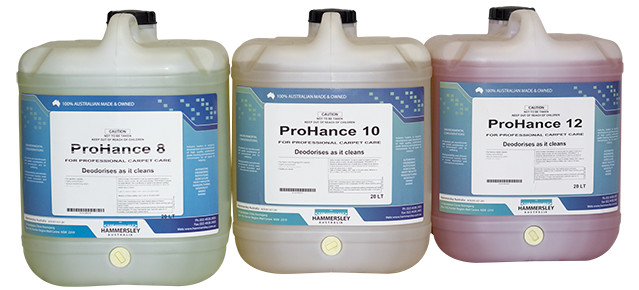 ProHance cleaning chemicals range