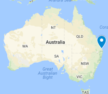Map of Drymatic technicians around Australia