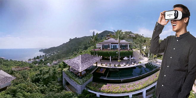 Virtual Holiday in Paradise