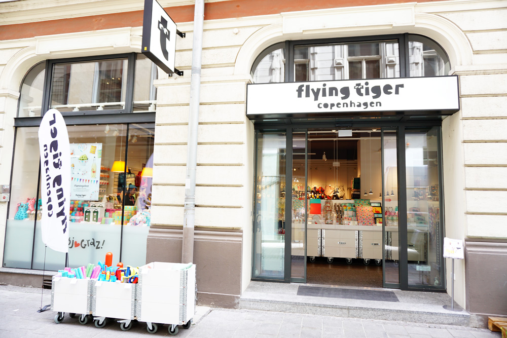 Flying Tiger Copenhagen Shop Graz