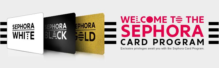Sephora Card Program Advert