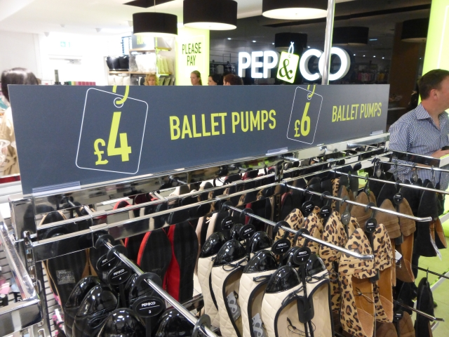 pep and co, kettering women's footwear