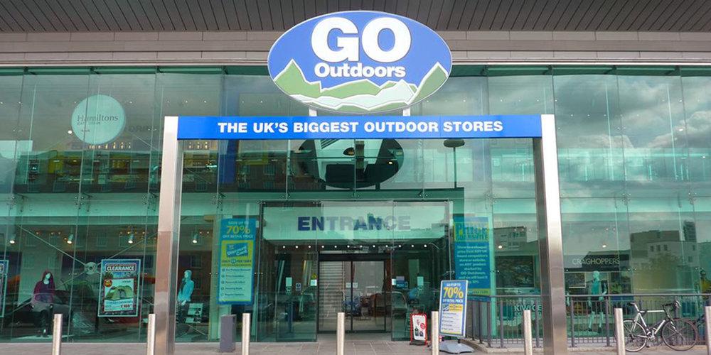 GO Outdoors Store Exterior