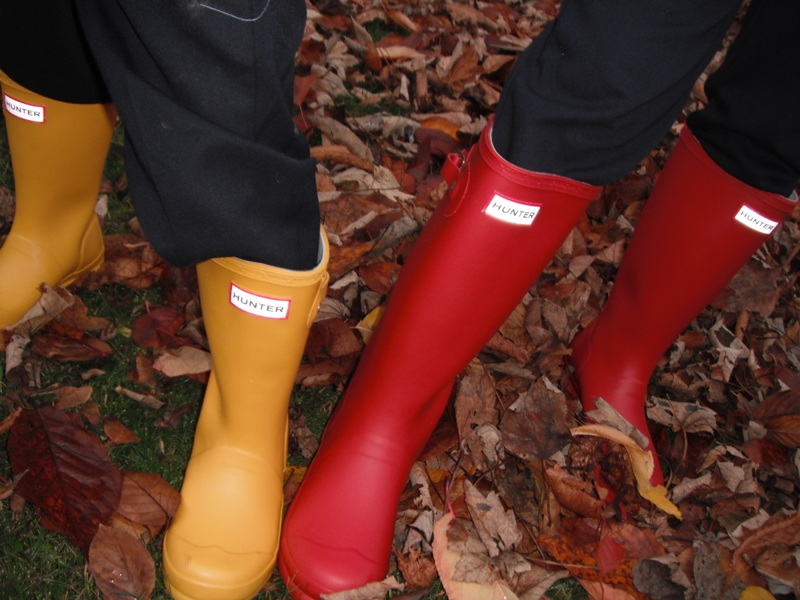 Hunter Wellington Boots Close Up.jpg