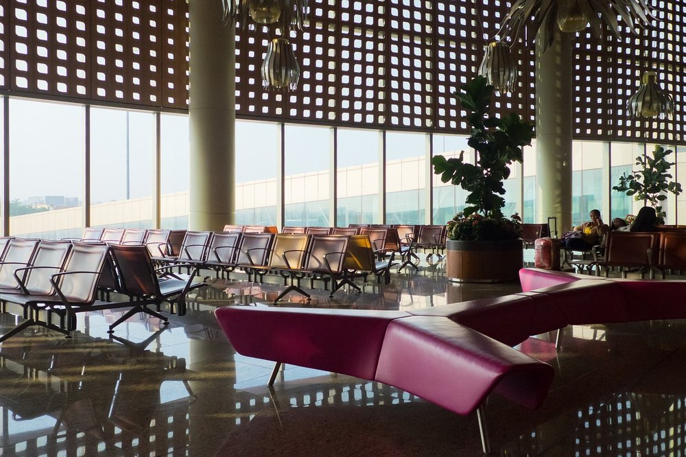 Chairs Mumbai International Airport