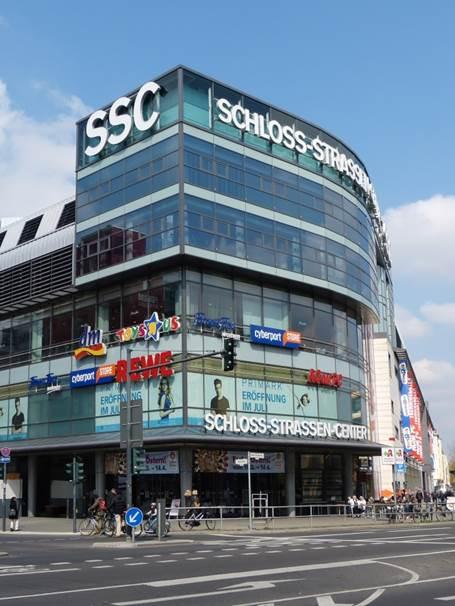 Schloß-Straßen-Center Positioning and Retail Mix