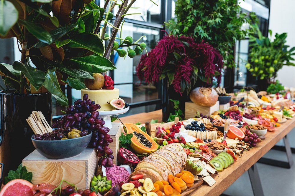 gourmaevents grazing table