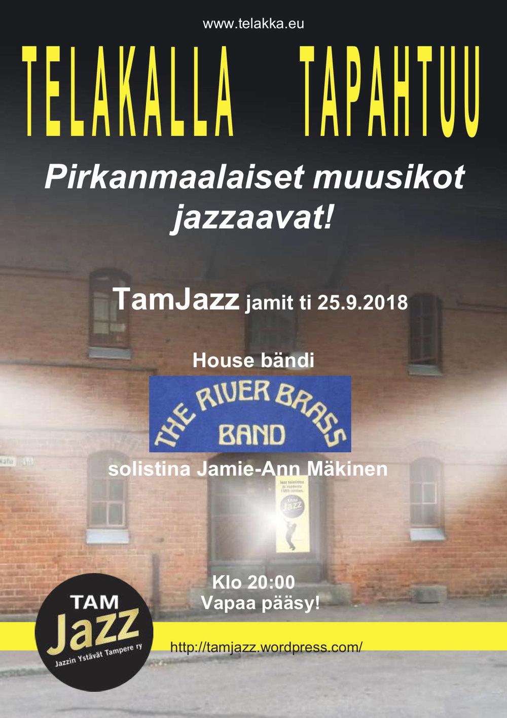 TamJazz jamit ti 25.9.2018 The River Brass Band.jpg