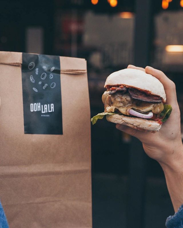 Big Wednesday? Grab @oohlalaburger on the way home! Burgers make everything better 😂