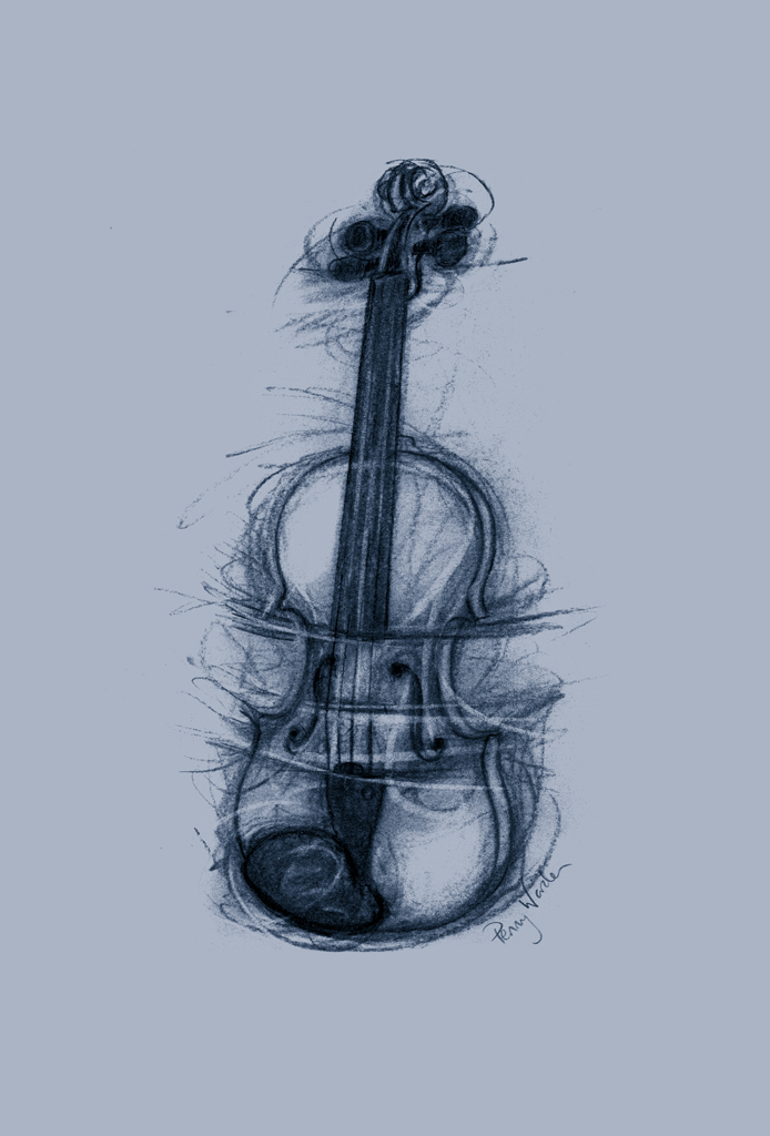 PW Blue Violin