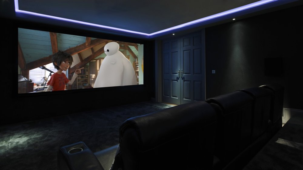 Artcoustic Spitfire Kent Home Cinema, UK (1).jpg