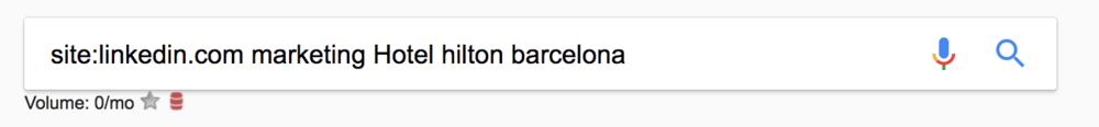"""site:linkedin.com """"marketing Hotel hilton barcelona"""""""