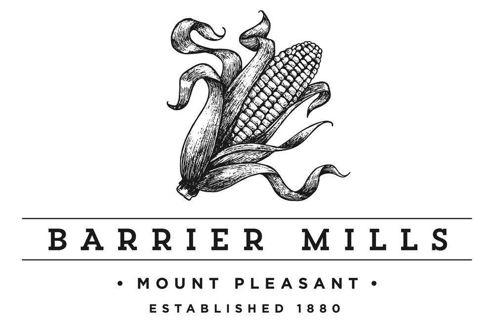 Barrier Mill is an extension of Barrier Farms. - Located across the street from the old homestead, its the family grain mill.