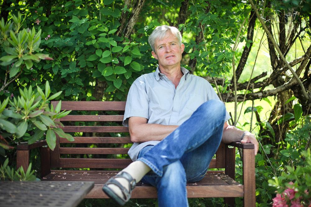 Jan Schwencke på benk
