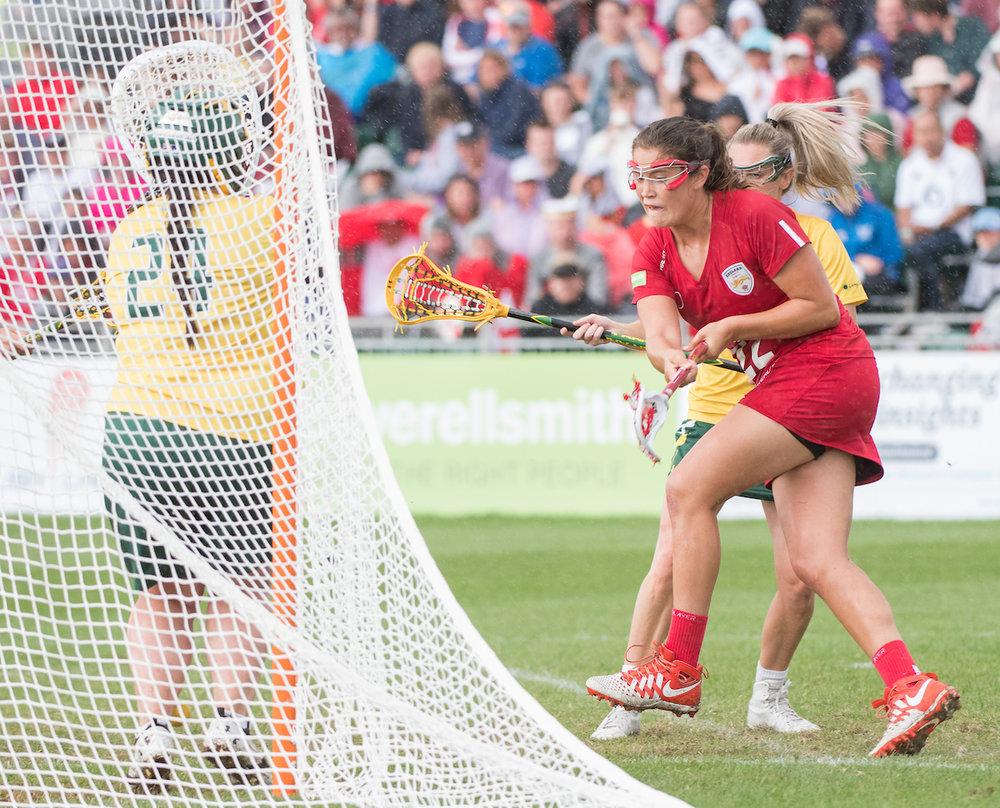 Olivia Hompe Scores for England