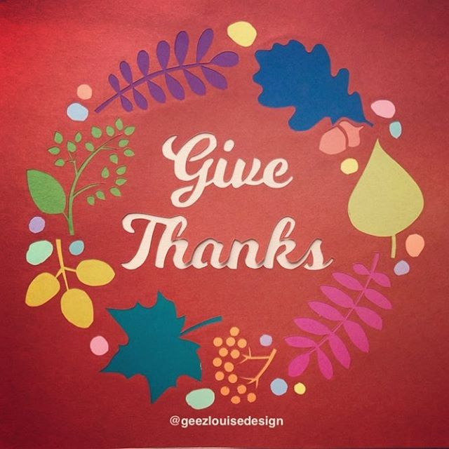 Happy Thanksgiving! Grateful for all of you following along in my colorful little corner of the internet ❤️ • • • #papercut #paperart #papercutartist #paper #papersource #paperillustration #artwork #paperartwork #paperartist #cutpaperart #dscolor #YestoPS #myPSstyle #dailydoseofpaper #designlife #crafty #craftday #crafternoon #geezlouisedesign #etsy #etsyart #etsyfinds #etsyartist #etsystore #etsyshop #happythanksgiving #givethanks