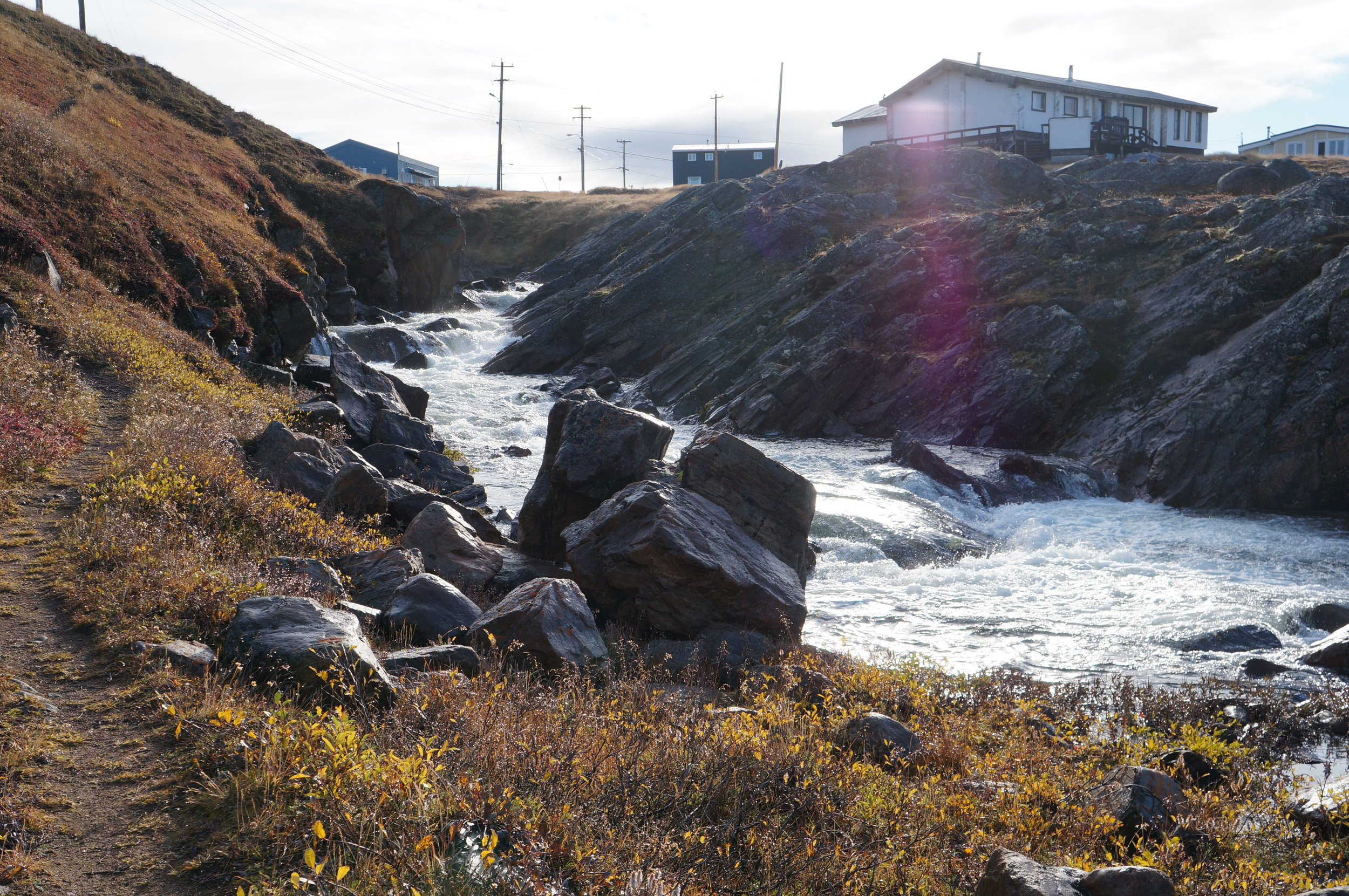 Apex River, Iqaluit. Photo by Anna Bunce