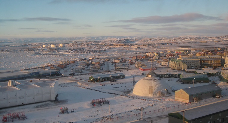 Iqaluit at sunrise