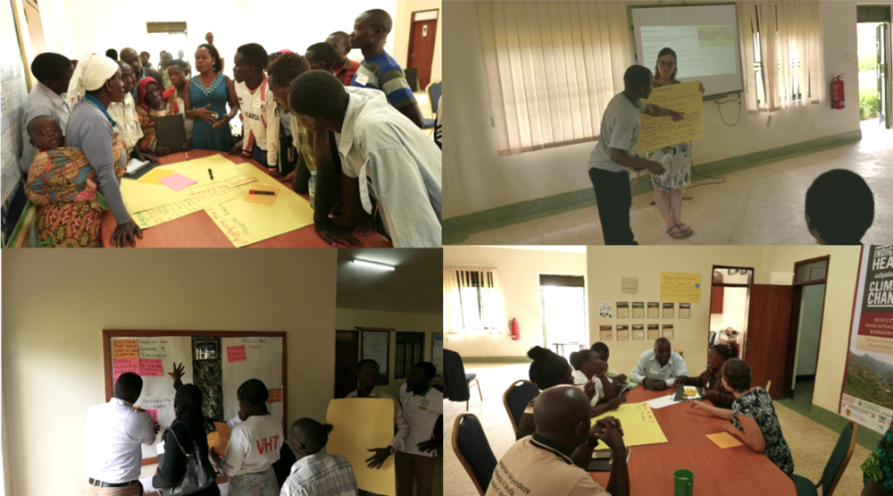 Groups discuss and share during participatory breakout sessions.