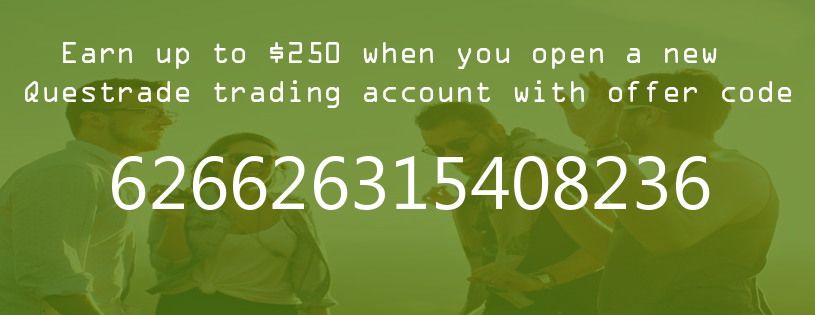 Questrade offer code $250