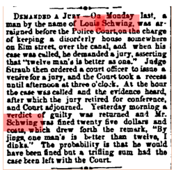 Cincinnati Enquirer , July 10th, 1867. Courtesy of the Public Library of Cincinnati and Hamilton County.