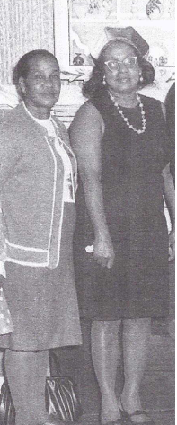 Mary J. Colbert, ca. 1967 (on the right). Courtesy of Ancestry.com.