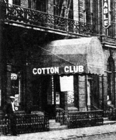 Cincinnati's Cotton Club. Courtesy of CincinnatiViews.net.