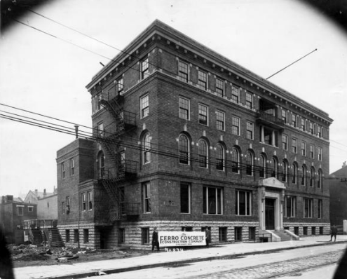 Ninth Street YMCA for African American men at 636 W. 9th. Courtesy of University of Minnesota Libraries, Kautz Family YMCA Archives.