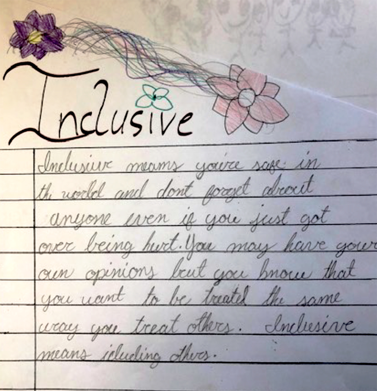cursive writing around the world in 26 letters