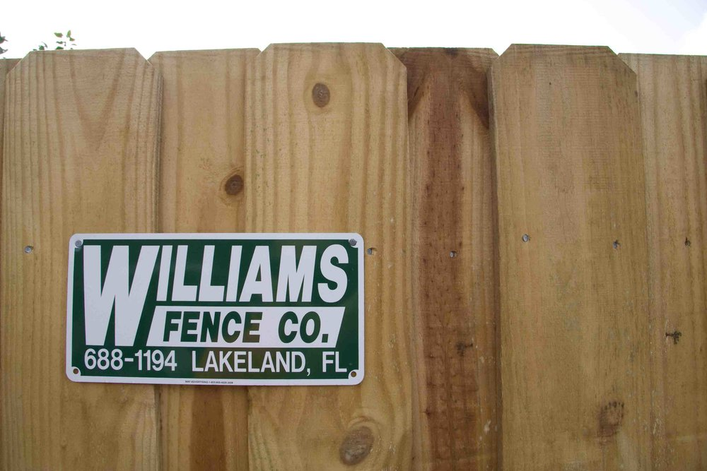 Build A Wood Fence To Suit Your Style — Williams Fence